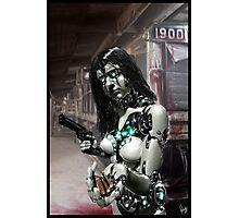 Cyberpunk Photography 067 Photographic Print