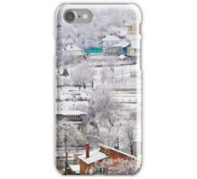 winter village panorama iPhone Case/Skin