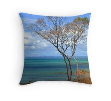 Hervey Bay Throw Pillow