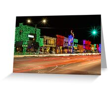 Big Bright Light Show 1 Greeting Card
