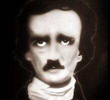 Edgar Allan Poe 8x10 print by draven0308