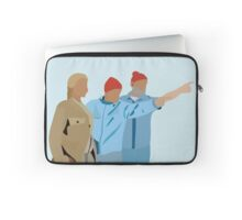 Minimal The Life Aquatic with Steve Zissou Poster Laptop Sleeve