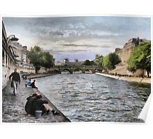 Seine, Paris Poster
