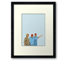 Minimal The Life Aquatic with Steve Zissou Poster Framed Print