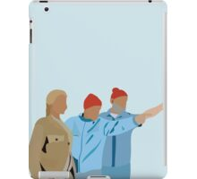 Minimal The Life Aquatic with Steve Zissou Poster iPad Case/Skin