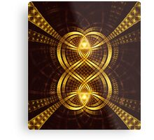 Hearts Entwined Metal Print