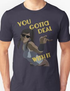 LoK - Korra Deal With It (No Outline) T-Shirt