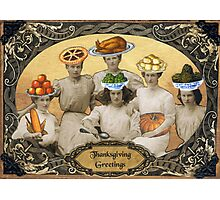 Thanksgiving Greetings Photographic Print