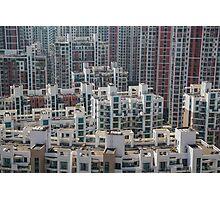 Architecture (Shanghai) Photographic Print