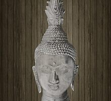 Buddha head by WAMTEES