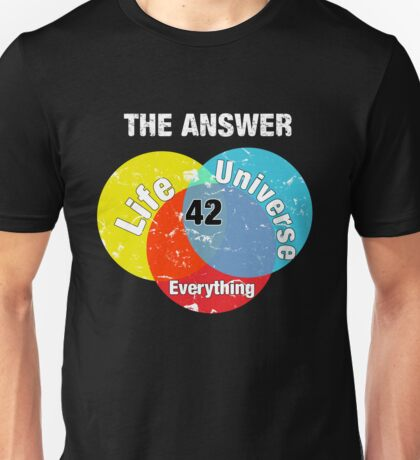 The Answer Unisex T-Shirt