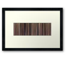 Moviebarcode: Roseanne - Season 2 (1989-1990) Framed Print
