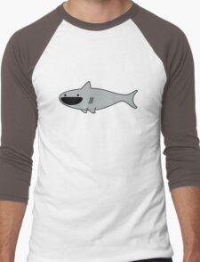 Cute Happy Shark Men's Baseball ¾ T-Shirt