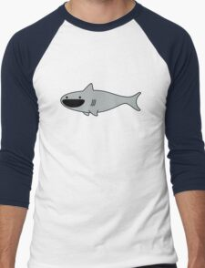 Cute Happy Shark Men's Baseball ¾ T-Shirt