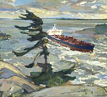 Oil Paintings : An Appropriation Project - Stormy weather by LiamPark