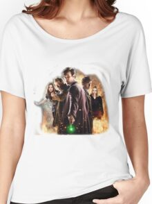 Doctor who 50th anniversary Women's Relaxed Fit T-Shirt