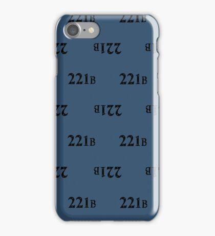 221B Baker Street iPhone Case/Skin