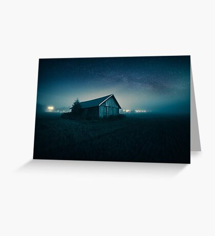 We are all lost stars, and we  trying to light up the dark! Greeting Card