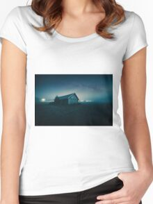 We are all lost stars, and we  trying to light up the dark! Women's Fitted Scoop T-Shirt