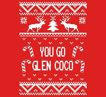 You Go Glen Coco Ugly Sweater T Shirt White Womens Fitted T-Shirt