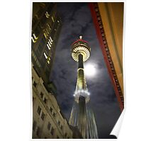 Sydney Tower by Night Poster