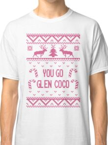 Pink You Go Glen Coco Ugly Sweater T Shirt Classic T-Shirt