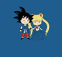 Sangoku and Sailor Wedding iphone by EdWoody