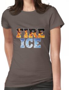 FIRE AND ICE Womens Fitted T-Shirt