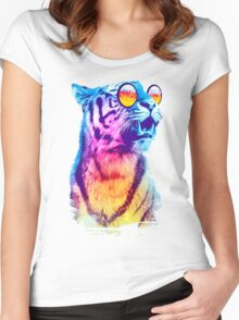 Tiger Breeze Women's Fitted Scoop T-Shirt