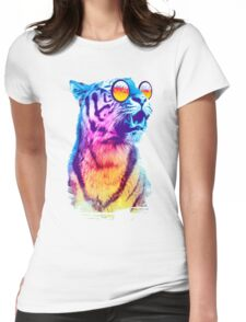 Tiger Breeze Womens Fitted T-Shirt