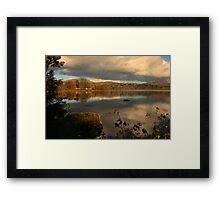 Lough Eske View Framed Print