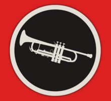Trumpet Sign decoration Clothing & Stickers by goodmusic