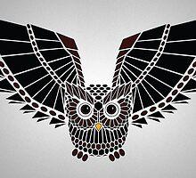 The Great Geometric Owl by KAMonkey