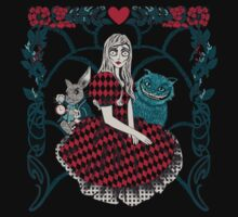 Spooky Alice in wonderland  by EdWoody