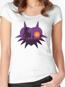 Dawn of the Final Day (Majoras Mask) Women's Fitted Scoop T-Shirt