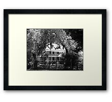 Glimpse of the Past Artistic Photograph by Shannon Sears Framed Print