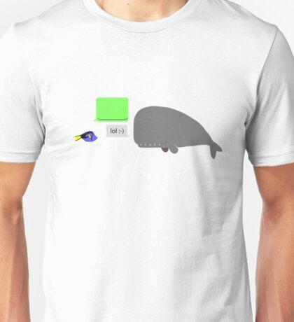 Speaking Whale Unisex T-Shirt