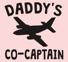 Daddy's Co-Captain Baby Tee