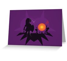 Dawn of the Final Day (Majoras Mask) Greeting Card