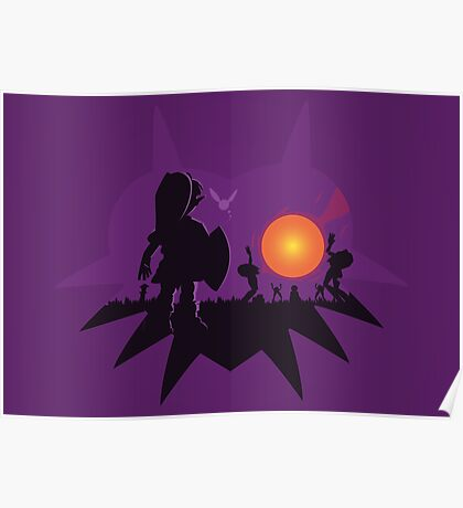 Dawn of the Final Day (Majoras Mask) Poster