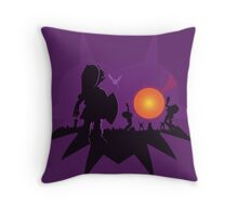 Dawn of the Final Day (Majoras Mask) Throw Pillow