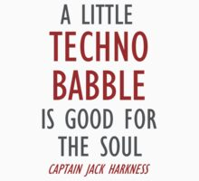 Techno babble by woodian