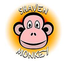 Shaven Monkey Photographic Print
