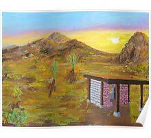 Adobe 44 - Desert Dreamin' Poster