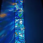 Holy Trinity Blue Window by kalaryder