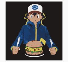 Pikachu Burger pokemon sticker by EdWoody