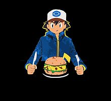 Pikachu Burger pokemon iphone by EdWoody