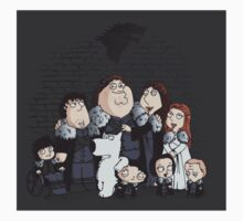 Family Guy in Stark game of thrones sticker by EdWoody