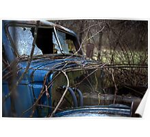 The Blue Truck: Windshield Poster