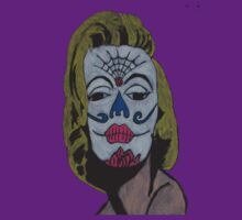 Sugar Skull Monroe by AMorrisonART